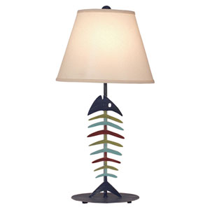 Coastal Living Weathered Morning Jewel and Key West One-Light Table Lamp