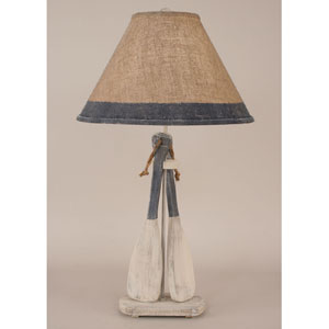 Coastal Living Cottage and Navy One-Light Table Lamp
