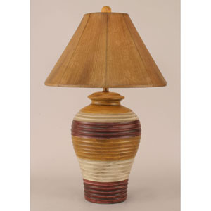 Rustic Living Glaze One-Light Table Lamp