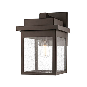 Powder Coat Bronze 13-Inch One-Light Outdoor Wall Sconce