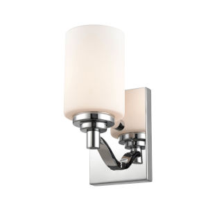 Chrome Four-Inch One-Light Wall Sconce
