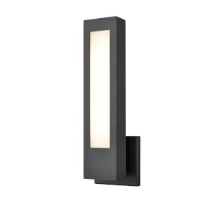 Powder Coated Black Five-Inch LED Outdoor Wall Mount