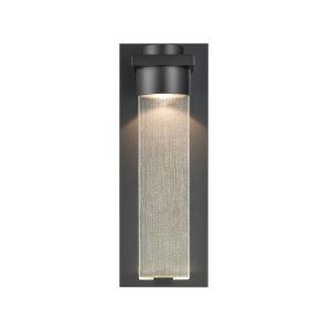 Powder Coated Black Six-Inch LED Outdoor Wall Mount