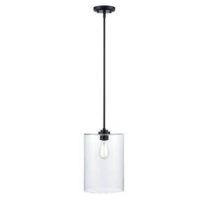Matte Black Nine-Inch One-Light Mini Pendant