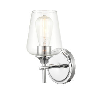 Ashford Chrome One-Light Wall Sconce