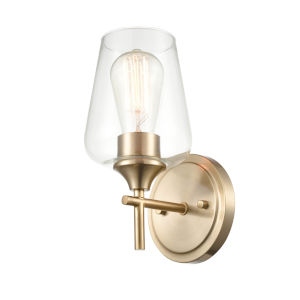 Ashford Modern Gold One-Light Wall Sconce