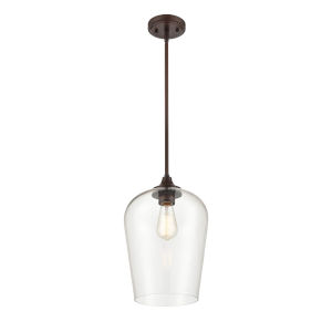 Ashford Rubbed Bronze One-Light Pendant
