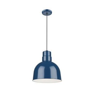 R Series Navy Blue 10-Inch One-Light Pendant