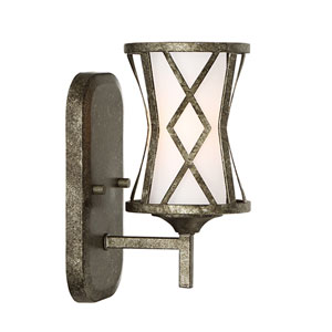 Lakewood Antique Silver One-Light Sconce