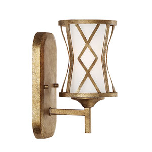 Lakewood Vintage Gold One-Light Sconce
