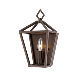 2571-RBZ Corona Rubbed Bronze One-Light Wall Sconce