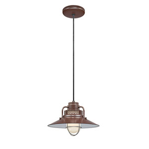 R Series Architectural Bronze 14-Inch Outdoor Cord Pendant