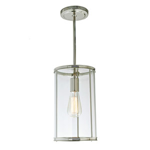 Gramercy Polished Nickel One-Light Mini Pendant