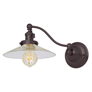 Soho Oil Rubbed Bronze One-Light Swing Arm Wall Sconce