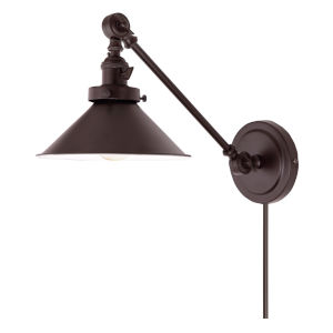 Soho M3 Oil Rubbed Bronze One-Light Double Swivel Swing Arm Wall Sconce