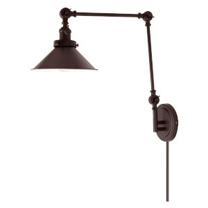 Soho M3 Oil Rubbed Bronze One-Light Triple Swivel Swing Arm Wall Sconce