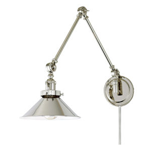 Soho M3 Polished Nickel One-Light Triple Swivel Swing Arm Wall Sconce