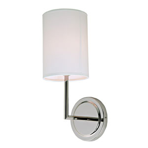 Elliot Polished Nickel One-Light Wall Sconce