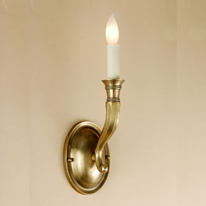 Contemporary Oil Rubbed Bronze One-Light Wall Sconce