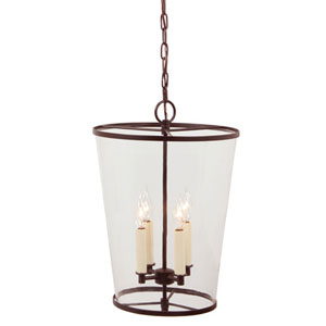 Charleston Oil Rubbed Bronze Four Light Chandelier