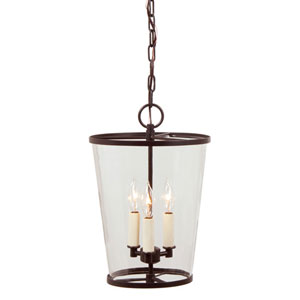 Charleston Oil Rubbed Bronze Three Light Chandelier
