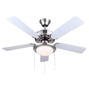 Eclipse Brushed Pewter 42-Inch One-Light Ceiling Fan