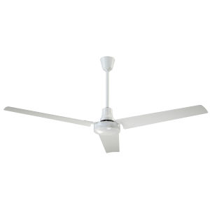 White 60-Inch Ceiling Fan