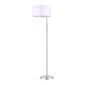 Perin Brushed Nickel One-Light Floor Lamp