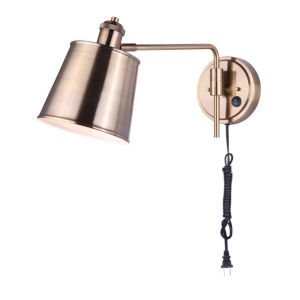 Ryana Gold One-Light Wall Sconce