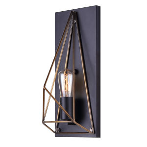 Greer Black One-Light Wall Sconce