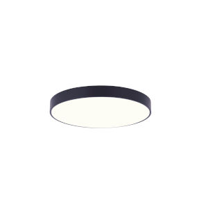 Low Profile Black Five-Inch LED Flush Mount