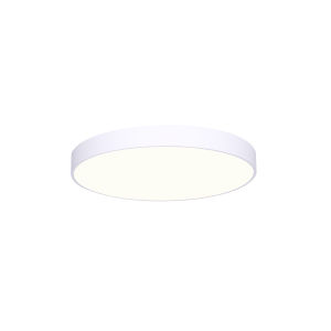 Low Profile White Five-Inch LED Flush Mount