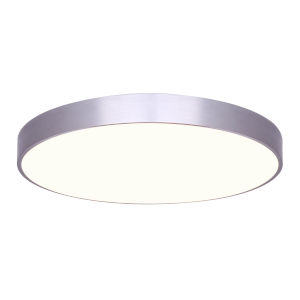 Low Profile Brushed Nickel Seven-Inch LED Flush Mount