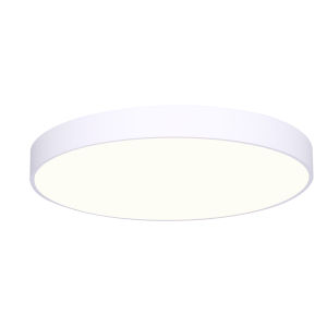 Low Profile White 25W LED Flush Mount