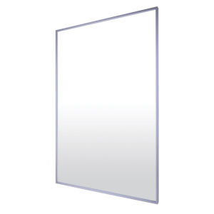 Brushed Nickel 29 x 43 Inch Mirror