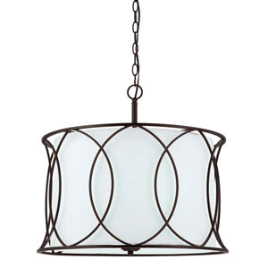 Monica Oil Rubbed Bronze Three-Light Chandelier