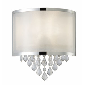 Reese Chrome Wall Light