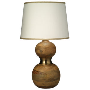 Bandeau Natural Wood One-Light Table Lamp