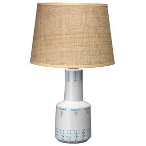 Berber White One-Light Table Lamp