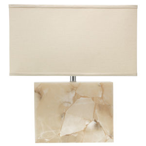 Borealis White 20-Inch One-Light Table Lamp