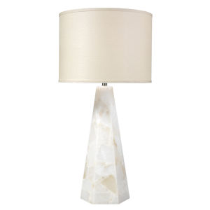 Borealis Alabaster One-Light Table Lamp