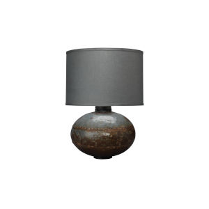 Caisson Gun Metal 16-Inch One-Light Table Lamp