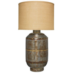 Caisson Gun Metal 18-Inch One-Light Table Lamp
