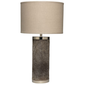 Natural One-Light Table Lamp