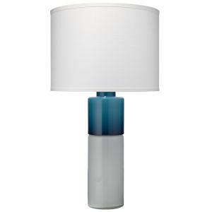 Copenhagen Navy and White One-Light Table Lamp