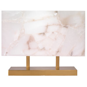 Ghost Brass 12-Inch One-Light Table Lamp