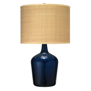 Plum Navy 21-Inch One-Light Table Lamp
