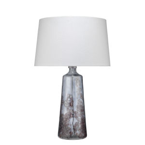 Patagonia Clear and Plum Glass One-Light Table Lamp