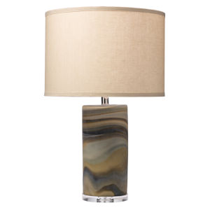 Terrene Gray One-Light Table Lamp