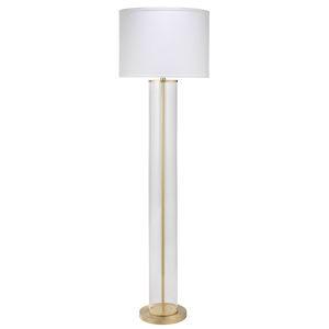 Vanderbilt Brass 64-Inch One-Light Floor Lamp